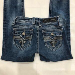Rock Revival Medium Wash Tori Straight Leg Jeans